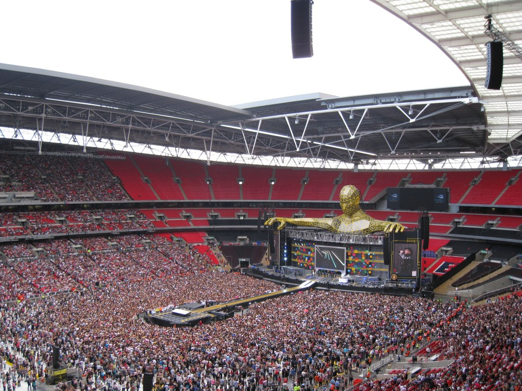 @TakeThat Progress Live Wembley Stadium 2011